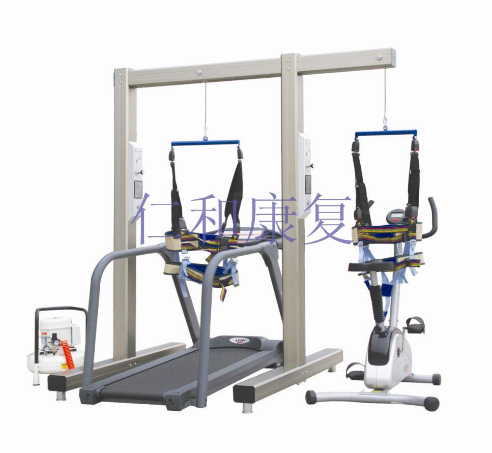 电动减重训练架(慢速跑台和立式功率车)01