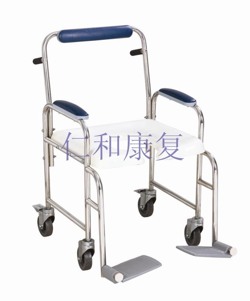 淋浴坐椅(带脚轮)